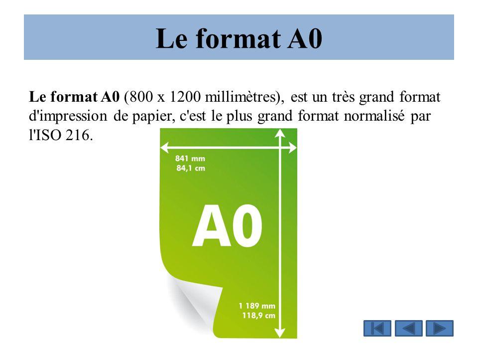 Le format A0