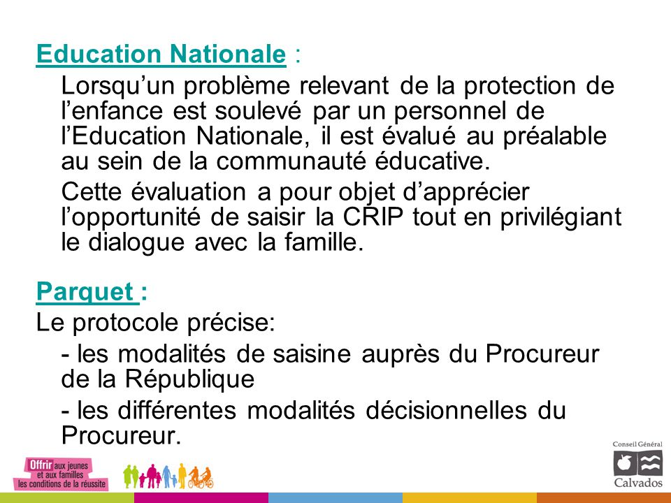 Education Nationale :