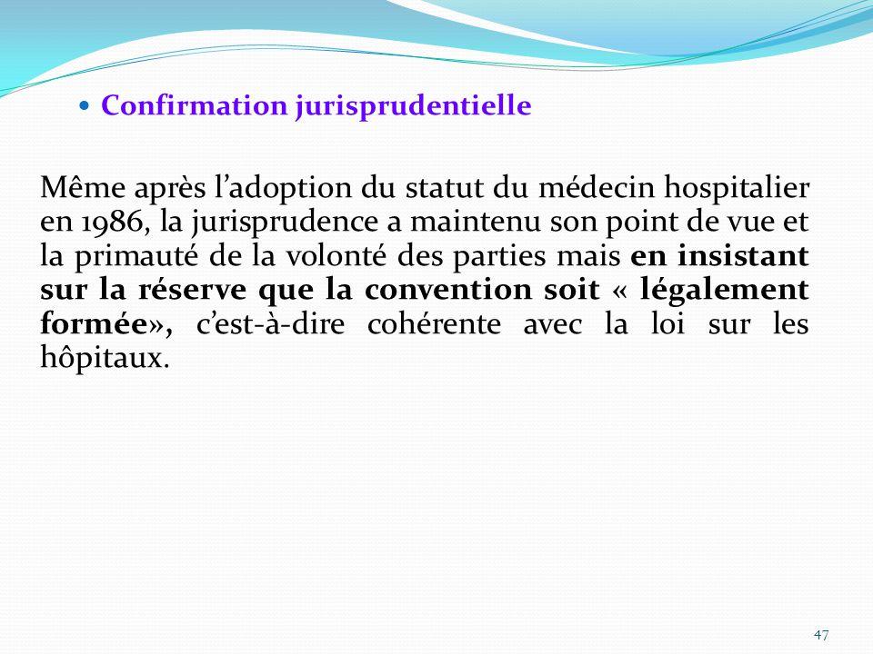 Confirmation jurisprudentielle