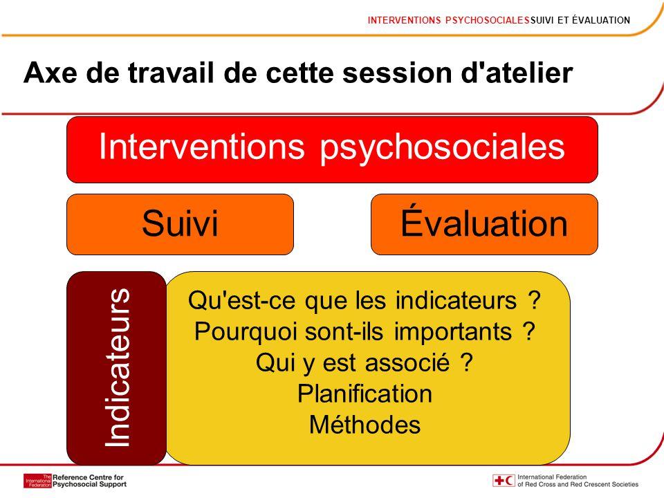 Interventions psychosociales