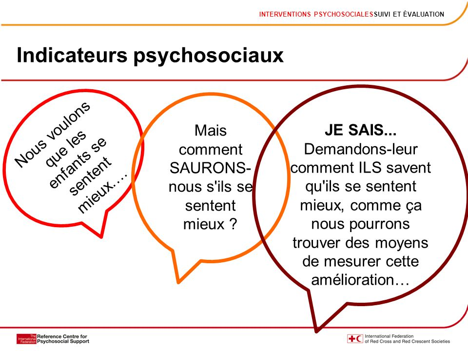 Indicateurs psychosociaux