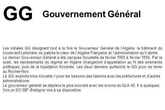 GG Gouvernement Général