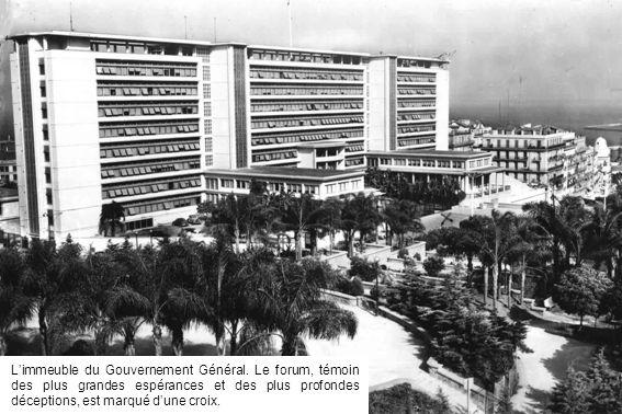 L'immeuble du Gouvernement Général