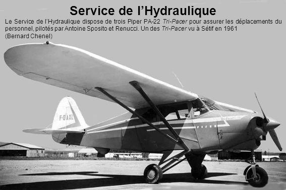 Service de l'Hydraulique