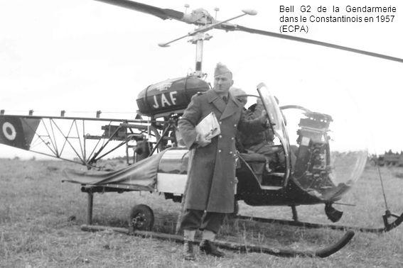 Bell G2 de la Gendarmerie dans le Constantinois en 1957
