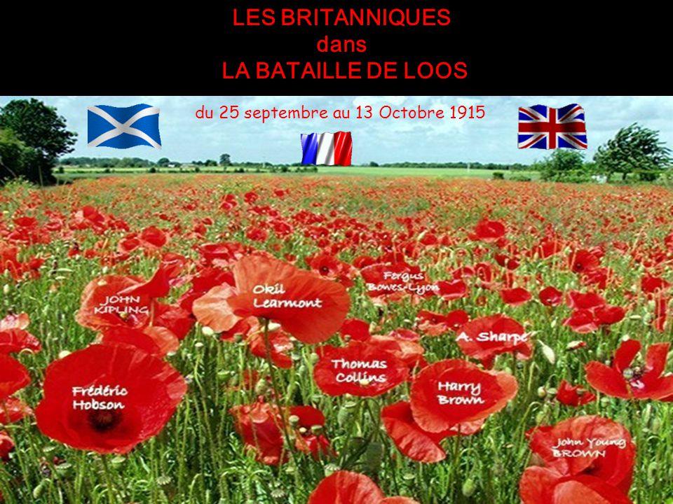 du 25 septembre au 13 Octobre 1915