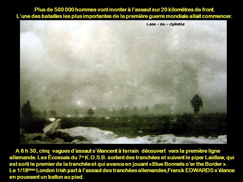 Plus de 500 000 hommes vont monter à l'assaut sur 20 kilomètres de front.