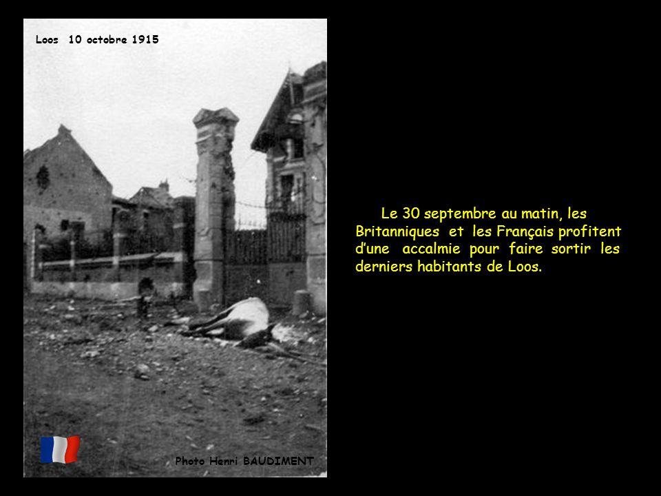 Loos 10 octobre 1915