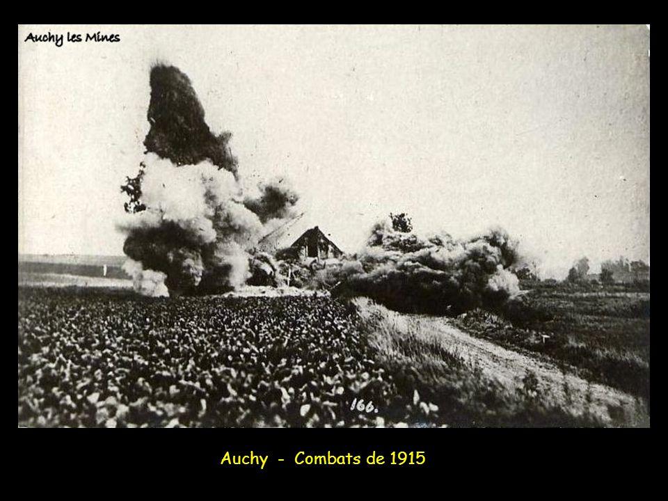 Auchy - Combats de 1915