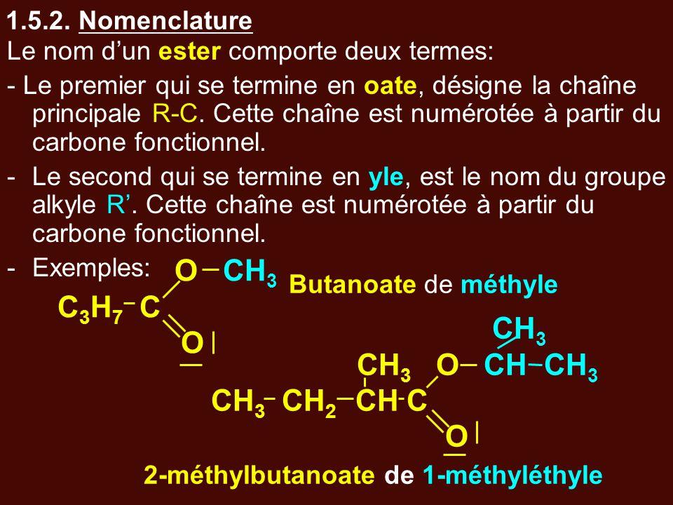 2-méthylbutanoate de 1-méthyléthyle