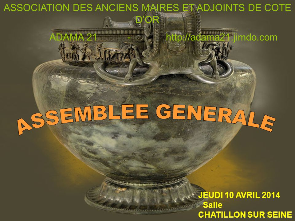 ASSOCIATION DES ANCIENS MAIRES ET ADJOINTS DE COTE D'OR