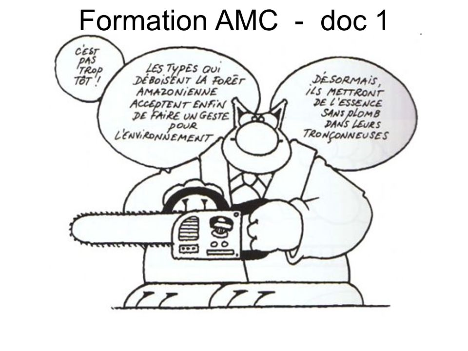 Formation AMC - doc 1