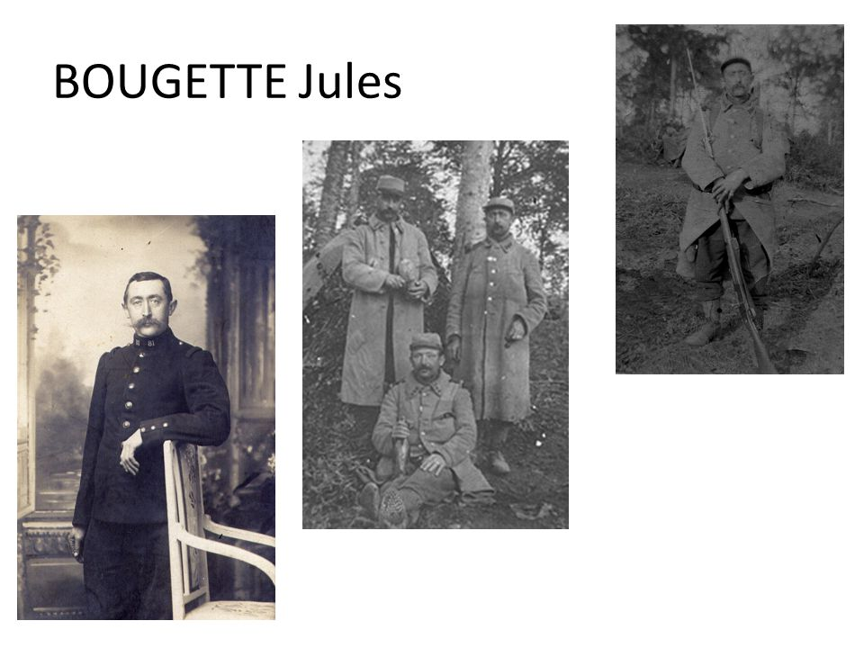 BOUGETTE Jules