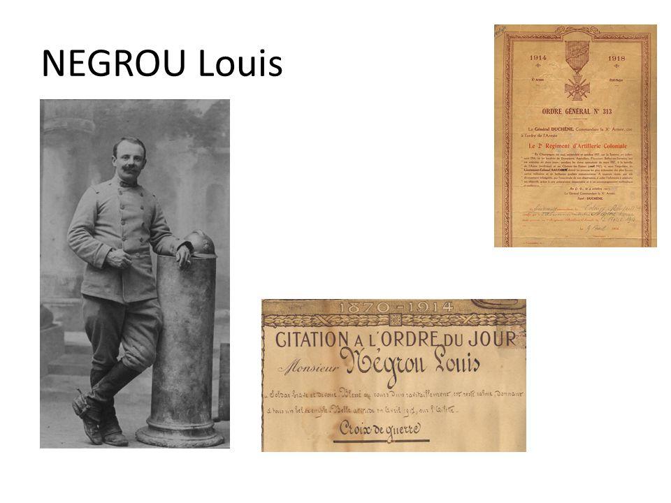 NEGROU Louis