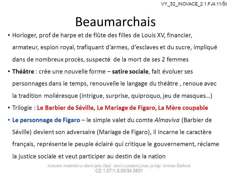 VY_32_INOVACE_2.1.FJ4.11/Št Beaumarchais.