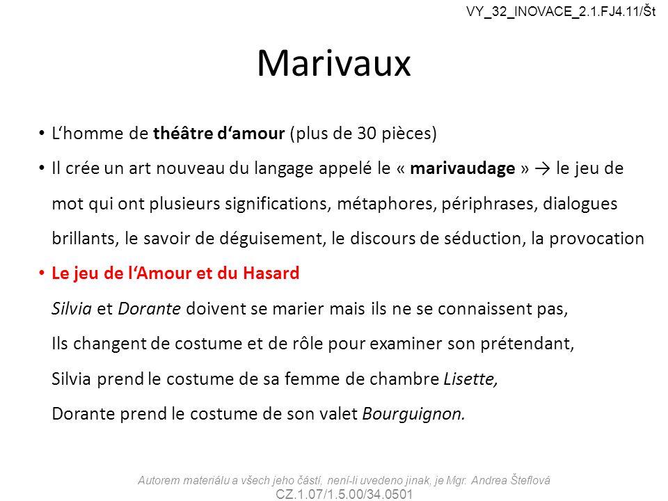 Marivaux L'homme de théâtre d'amour (plus de 30 pièces)