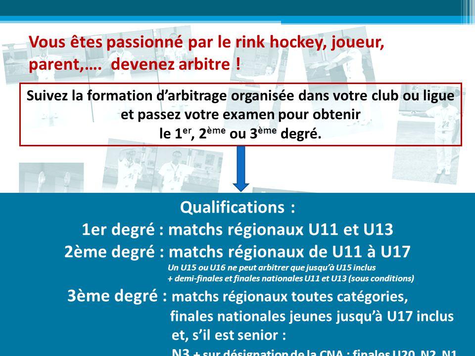 1er degré : matchs régionaux U11 et U13