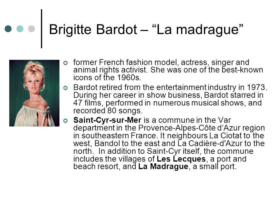 Brigitte Bardot – La madrague