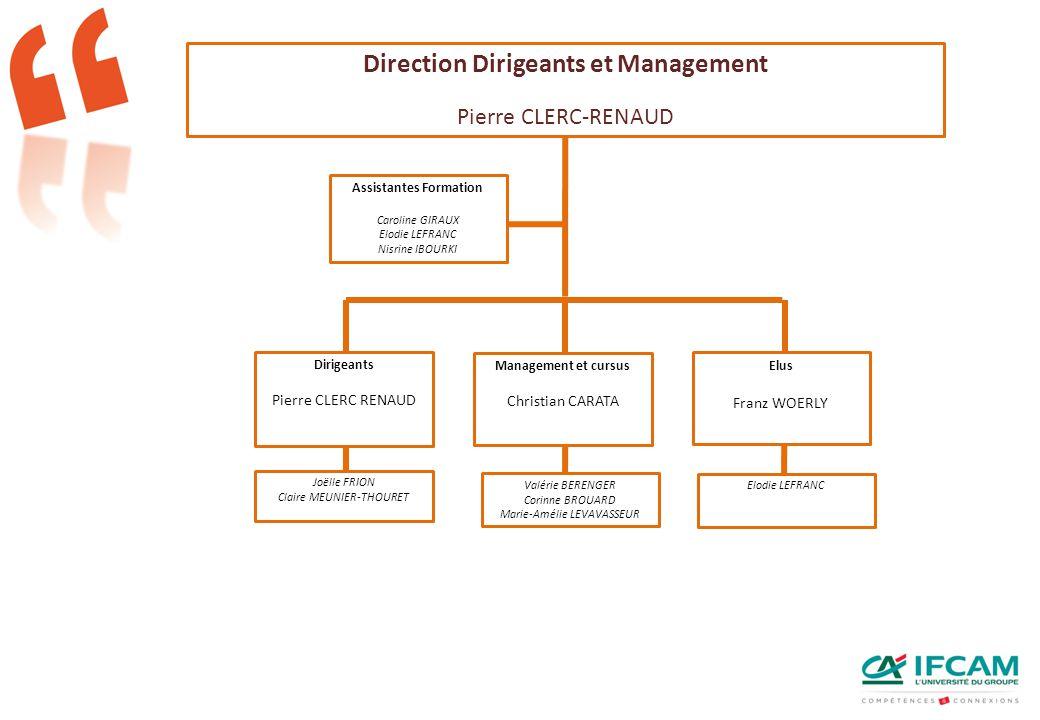 Direction Dirigeants et Management Assistantes Formation
