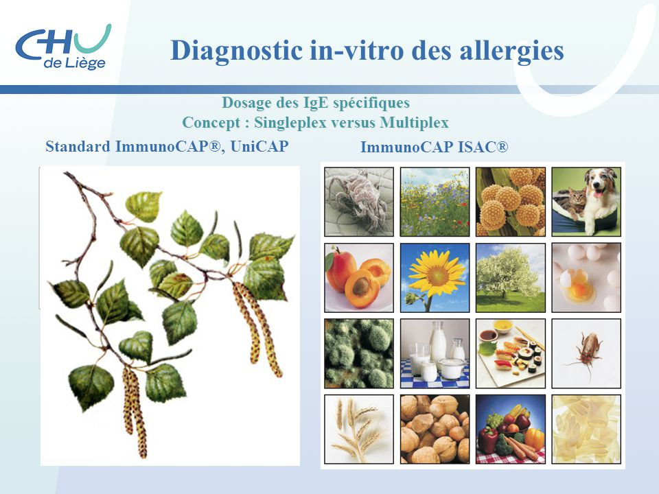 Diagnostic in-vitro des allergies
