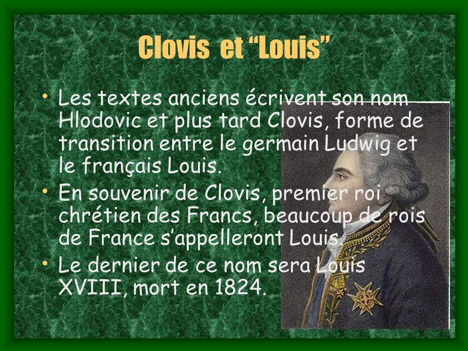 Clovis et Louis
