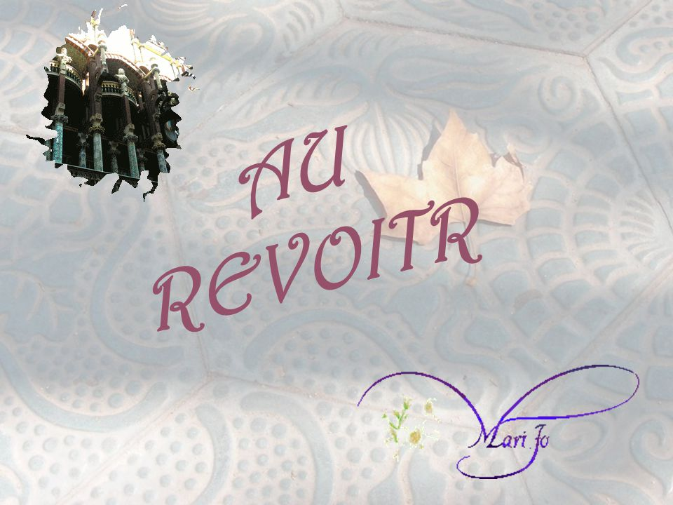 AU REVOITR