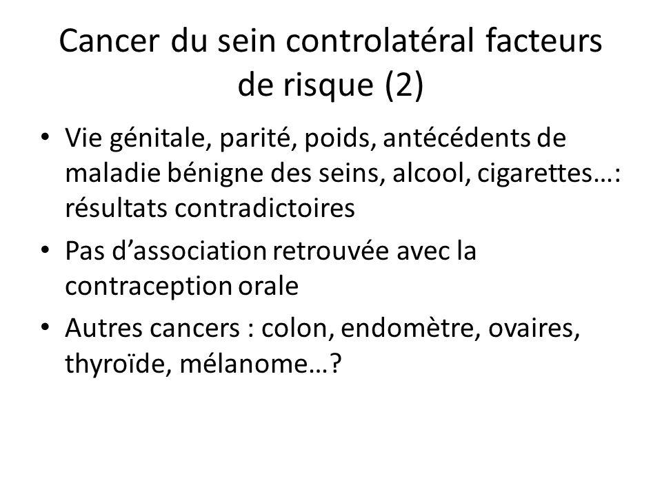 Cancer du sein controlatéral facteurs de risque (2)