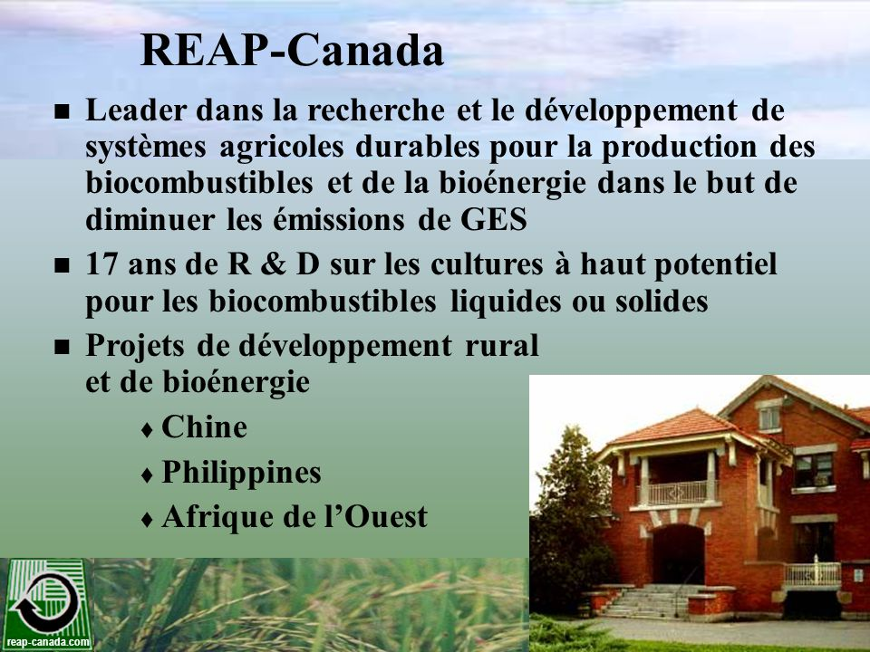 REAP-Canada