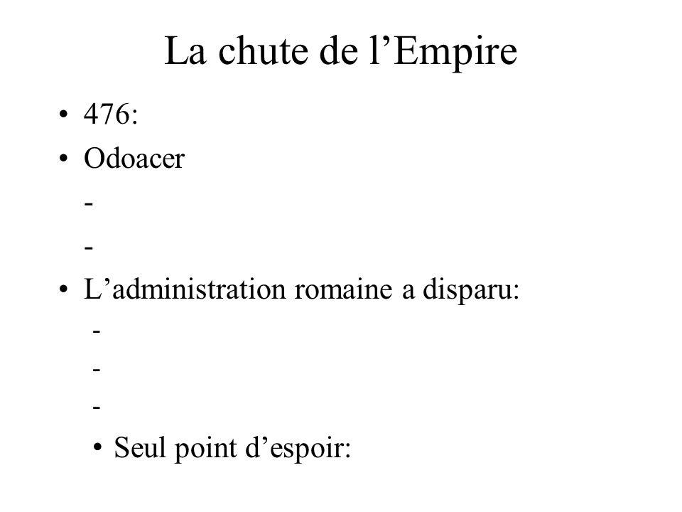 La chute de l'Empire 476: Odoacer -