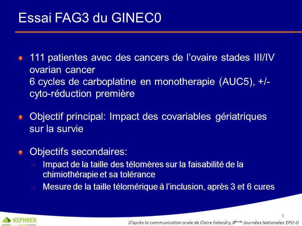 Essai FAG3 du GINEC0