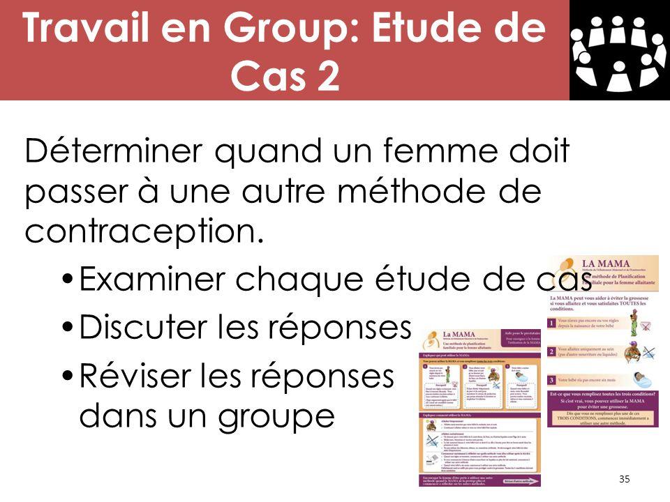 Travail en Group: Etude de Cas 2