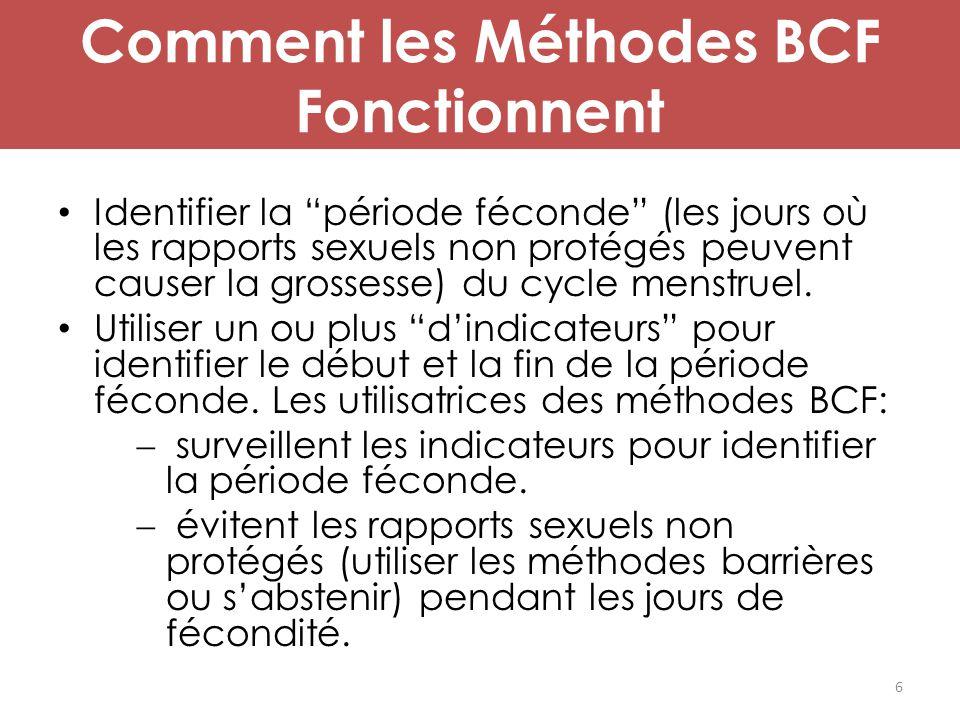 Comment les Méthodes BCF Fonctionnent