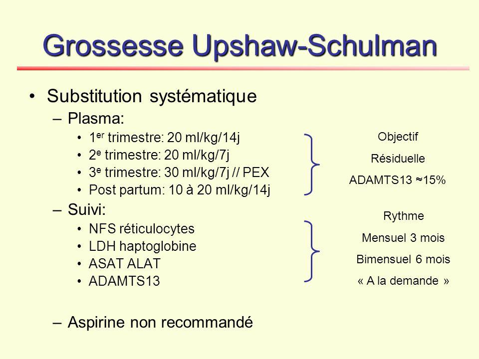 Grossesse Upshaw-Schulman
