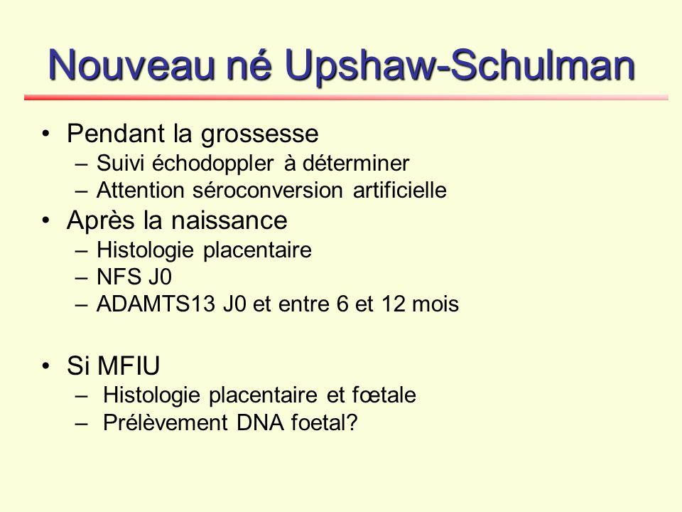 Nouveau né Upshaw-Schulman