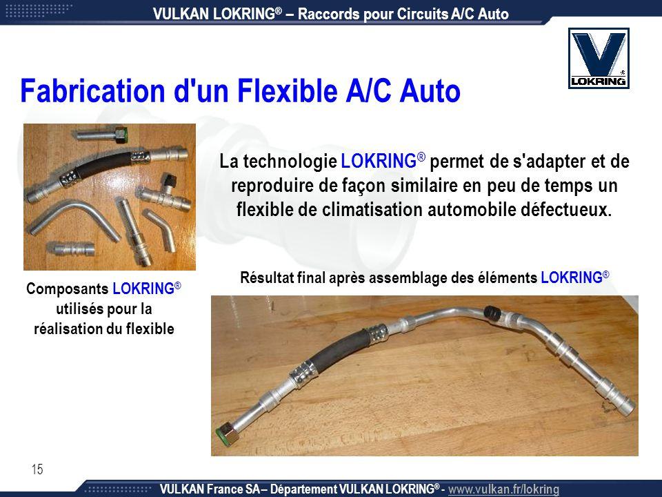 Fabrication d un Flexible A/C Auto