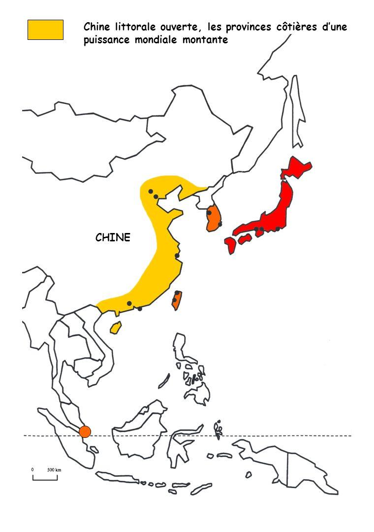 Chine littorale ouverte, les provinces côtières d'une puissance mondiale montante