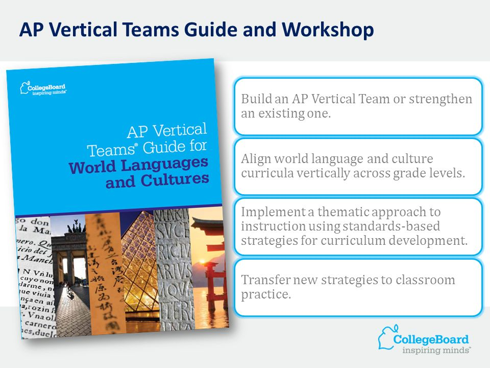 AP Vertical Teams Guide and Workshop