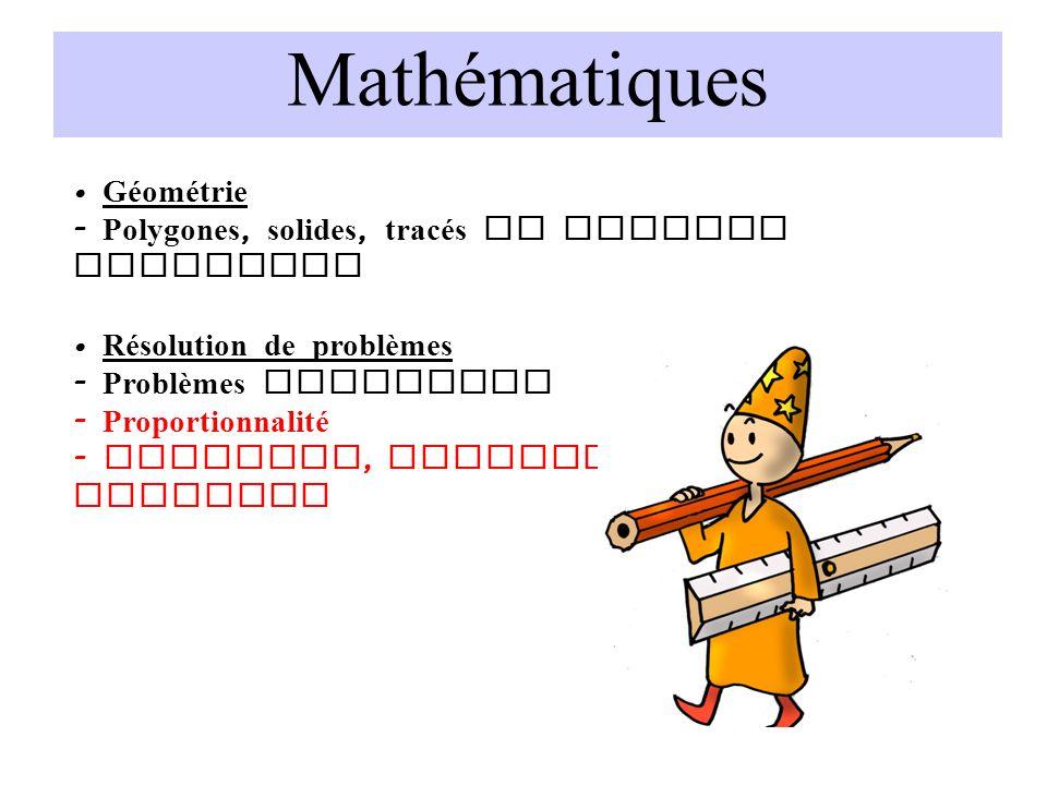 Mathématiques • Géométrie