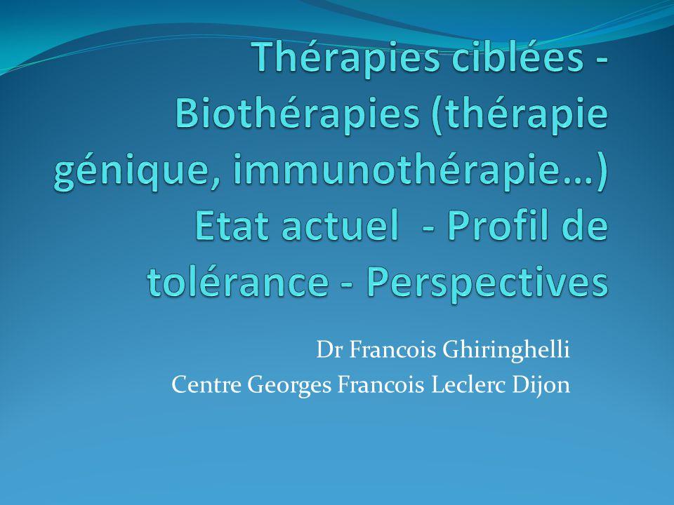 Dr Francois Ghiringhelli Centre Georges Francois Leclerc Dijon