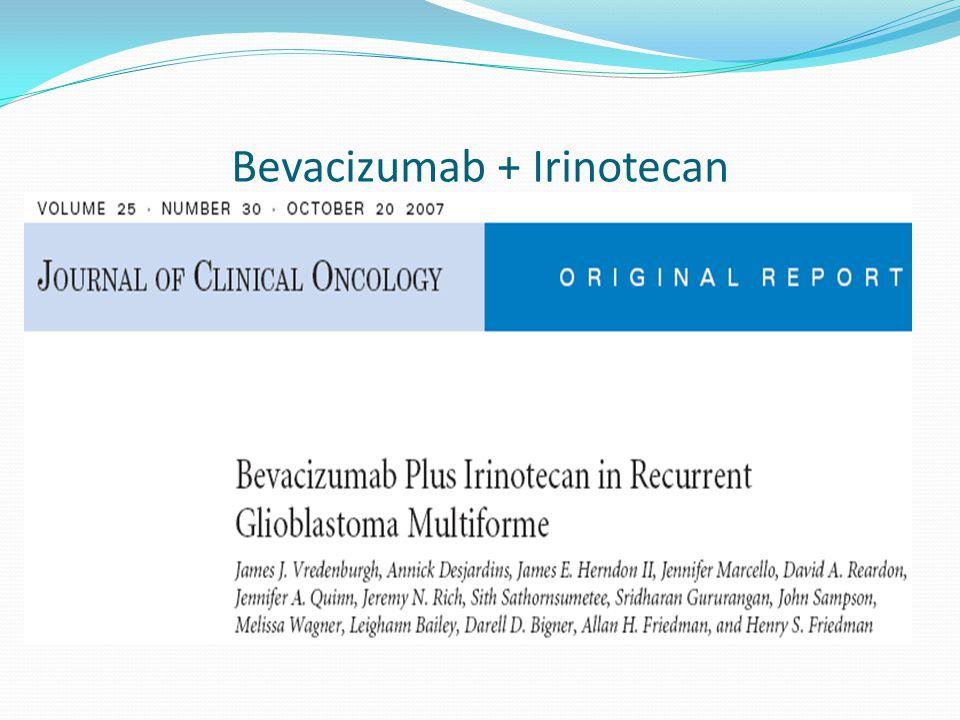 Bevacizumab + Irinotecan