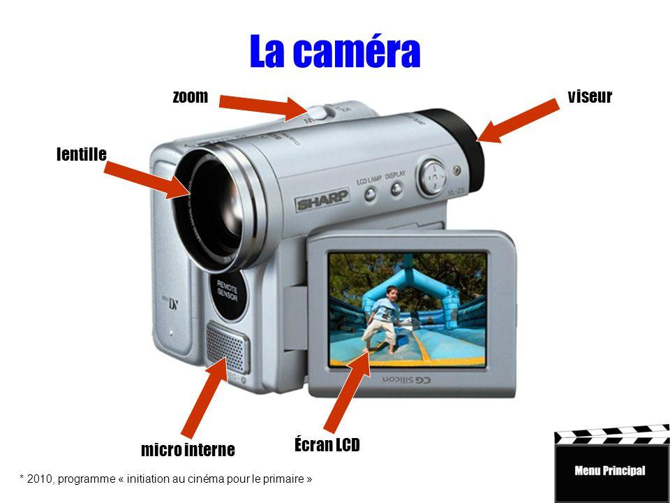 La caméra zoom viseur lentille Écran LCD micro interne