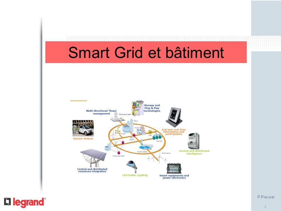 Smart Grid et bâtiment P Prevost