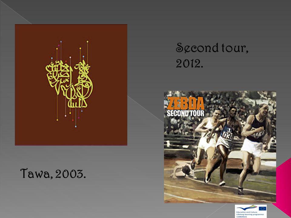 Second tour, 2012. Tawa, 2003.