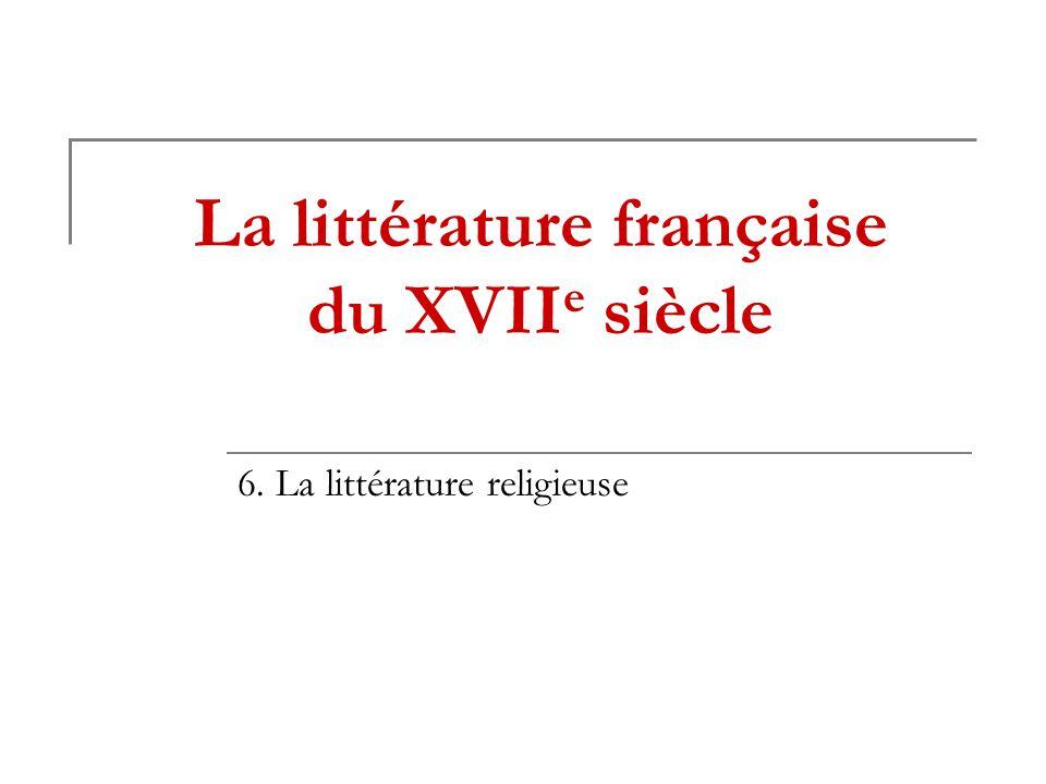 La littérature française du XVIIe siècle