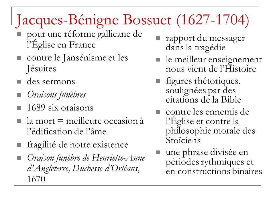 Jacques-Bénigne Bossuet (1627-1704)
