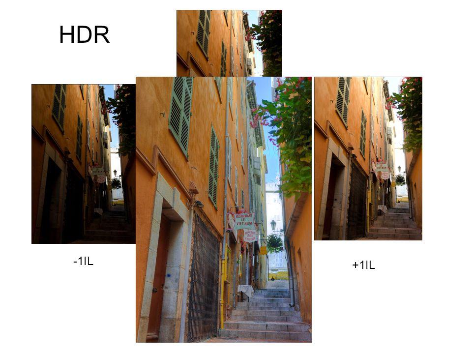 HDR -1IL +1IL