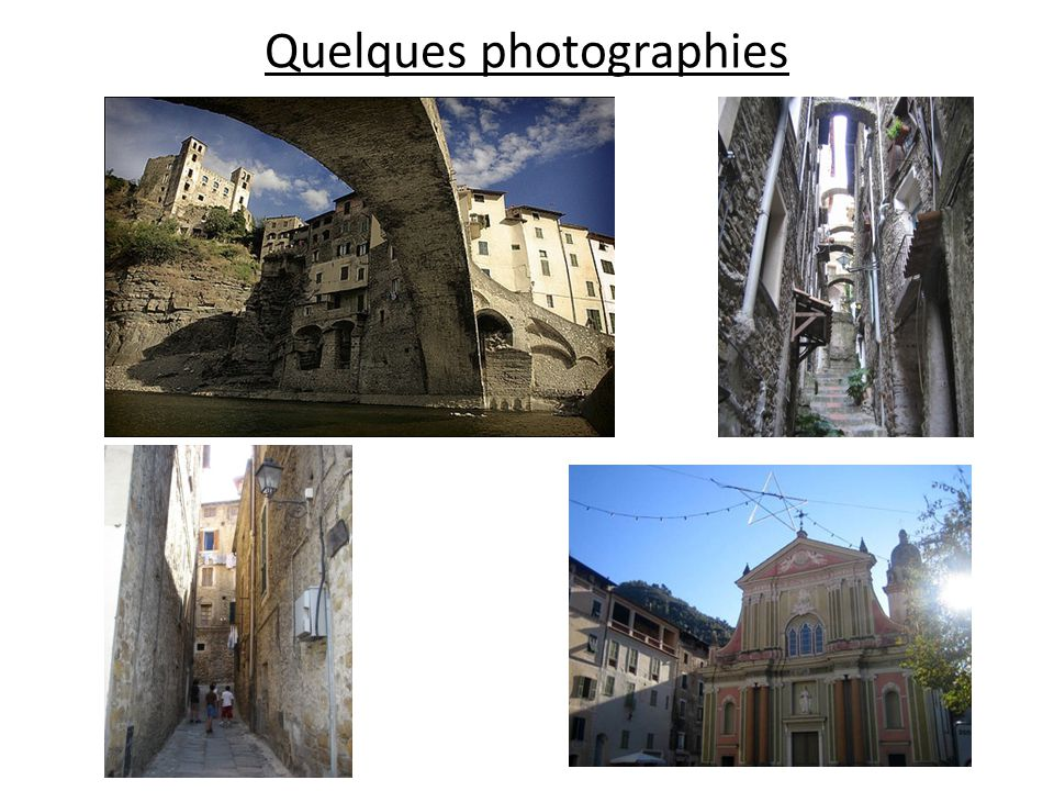 Quelques photographies