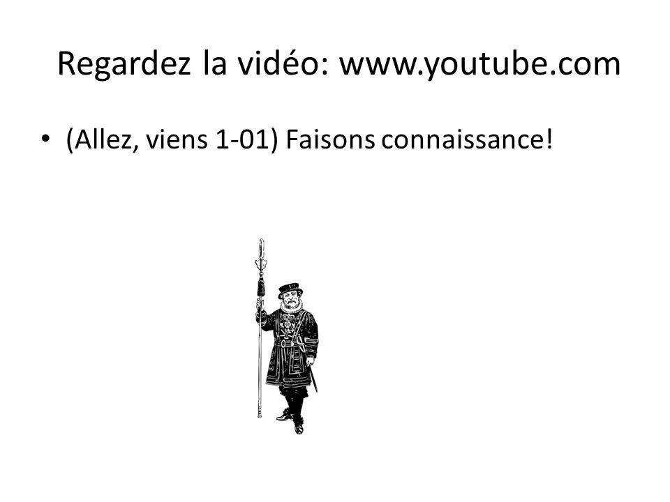 Regardez la vidéo: www.youtube.com