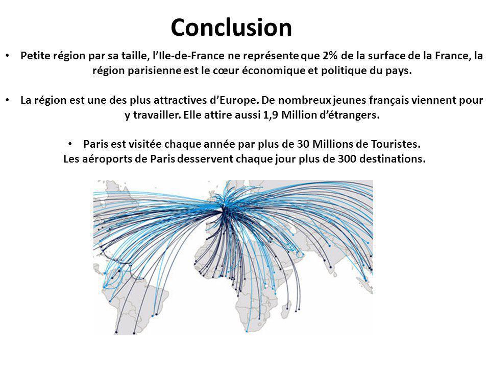 Paris est visitée chaque année par plus de 30 Millions de Touristes.