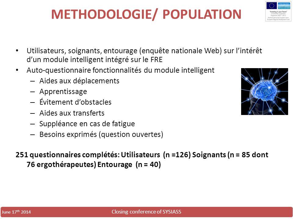 METHODOLOGIE/ POPULATION